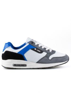 Sneakers LANDO. Цвет: white, black, grey