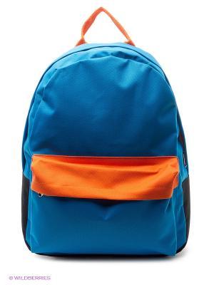 Рюкзак ANTAN. Цвет: синий, оранжевый
