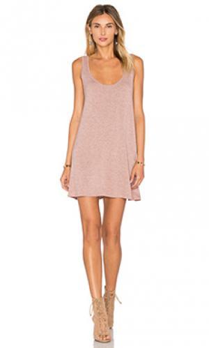 Мини платье lakey Riller & Fount. Цвет: сиреневый