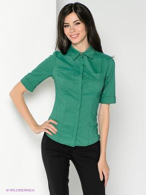 Рубашка SUGARLIFE. Цвет: зеленый
