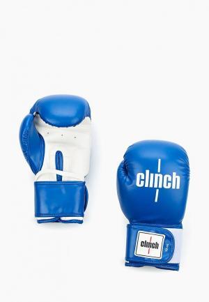 Перчатки боксерские Clinch. Цвет: синий