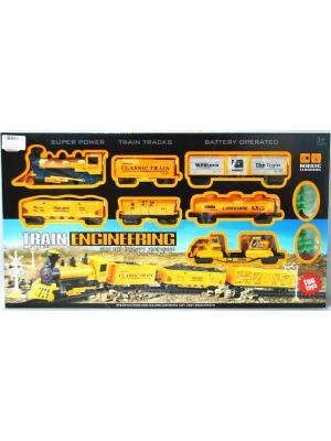 Игровой Набор Железная Дорога Товарный XL Склад Уникальных Товаров. Цвет: желтый