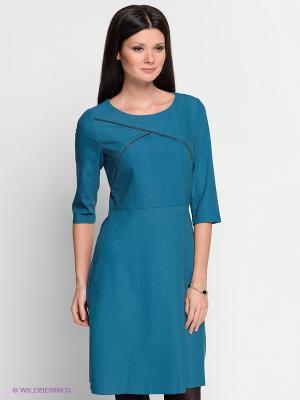 Платье Capriz. Цвет: морскаяволна