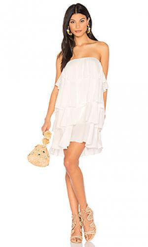 Платье rio De Lacy. Цвет: белый