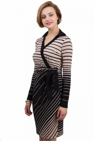 Платье Joseph Ribkoff. Цвет: бежевый
