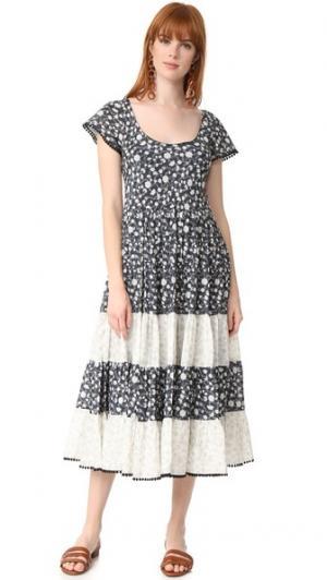 Романтическое платье Night Dream Athena Procopiou. Цвет: черный/микс