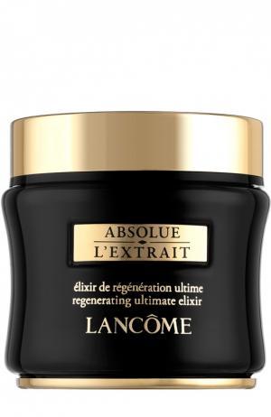 Крем-эликсир для восстановления кожи Absolue LExtrait Lancome. Цвет: бесцветный