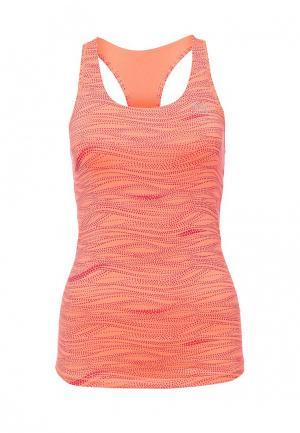 Топ спортивный Puma. Цвет: оранжевый