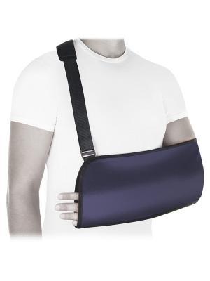 Бандаж компрессионный фиксирующий плечевой сустав Luomma. Цвет: фиолетовый