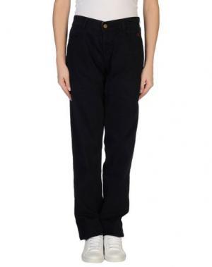 Повседневные брюки GB8. Цвет: темно-синий
