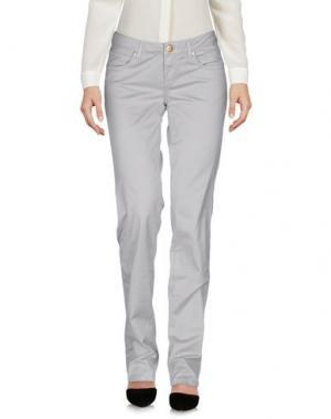 Повседневные брюки SEVEN7. Цвет: светло-серый