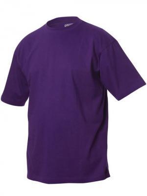 Футболка Classic-T Clique. Цвет: сливовый, темно-фиолетовый