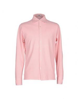Pубашка VALDOGLIO. Цвет: розовый