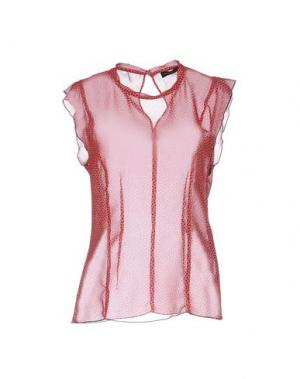 Блузка FABRIZIO LENZI. Цвет: красный