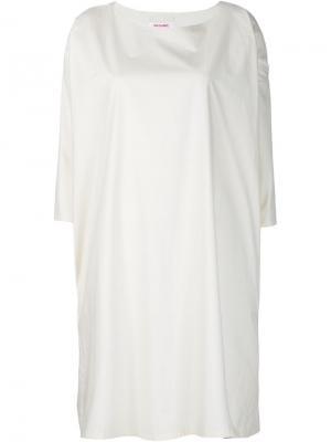 Свободное платье Organic By John Patrick. Цвет: белый