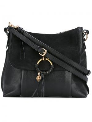 Декорированная сумка на плечо See By Chloé. Цвет: чёрный