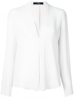 Блузка c V-образным вырезом Steffen Schraut. Цвет: серый