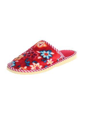 Тапочки домашние женские Migura. Цвет: красный, оранжевый, белый, синий, бежевый