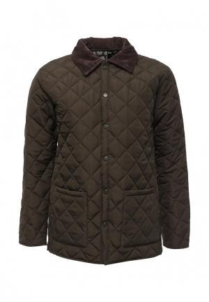 Куртка утепленная Soulstar. Цвет: хаки