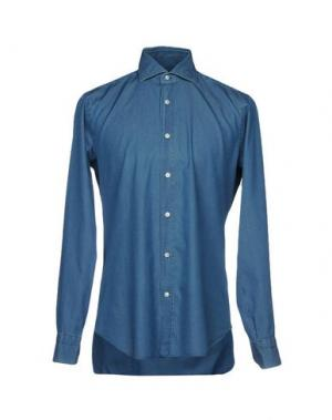 Джинсовая рубашка BARBA Napoli 38719695LK