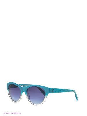 Солнцезащитные очки JC 563S 89W Just Cavalli. Цвет: голубой
