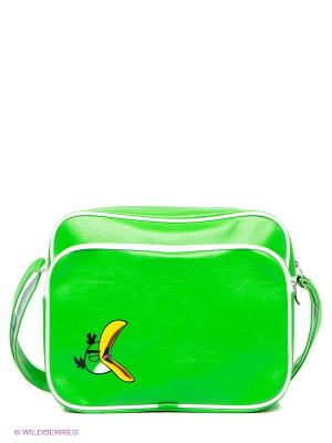 Сумка Angry birds Centrum. Цвет: зеленый