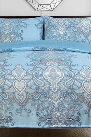 Постельное белье Дуэт, 50x70 СIOCCOLATO. Цвет: голубой