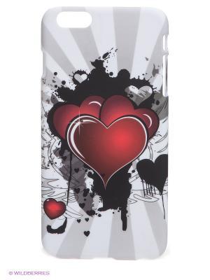 Чехол для iPhone 6 plus WB. Цвет: белый, черный, бордовый