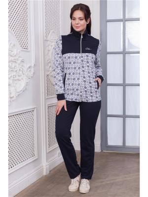 Комплект одежды CLEO. Цвет: синий, белый