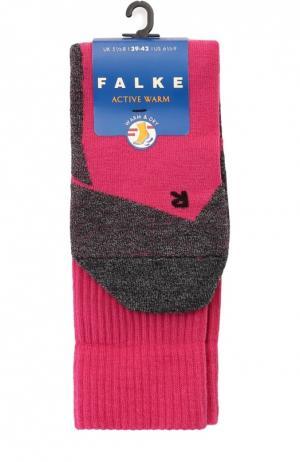 Утепленные носки Active Warm Falke. Цвет: фуксия