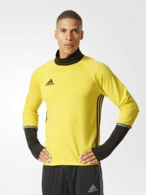 Джемпер Con16 Trg Top Adidas. Цвет: желтый