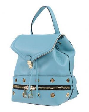 Рюкзаки и сумки на пояс AB ASIA BELLUCCI. Цвет: бирюзовый