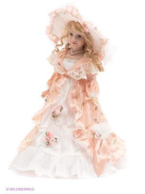 Кукла фарфоровая Екатерина Lisa Jane. Цвет: бледно-розовый, бежевый