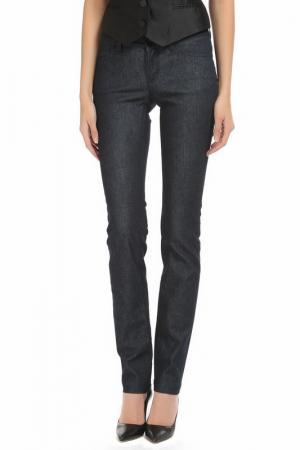 Прямые брюки с 5-ю карманами DOLCE & GABBANA. Цвет: синий