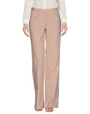 Повседневные брюки E-GÓ. Цвет: песочный