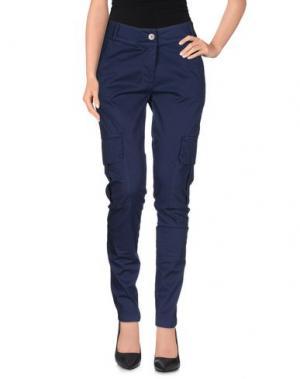 Повседневные брюки SARAH JACKSON. Цвет: темно-синий