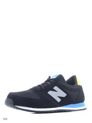 Кроссовки NEW BALANCE 420. Цвет: черный