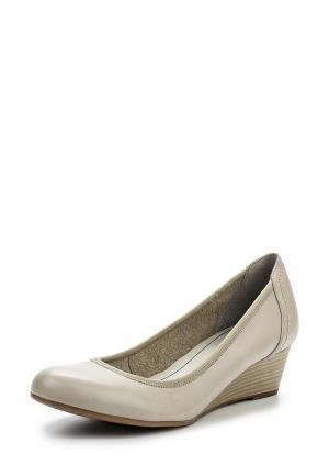 Туфли Tamaris. Цвет: серый