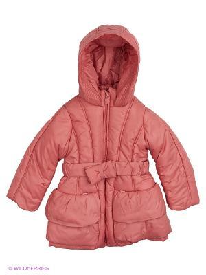 Пальто ACOOLA. Цвет: розовый