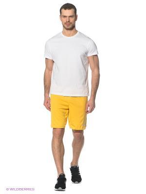 Шорты Adidas. Цвет: желтый