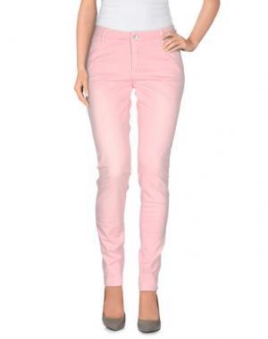 Повседневные брюки FAIRLY. Цвет: розовый