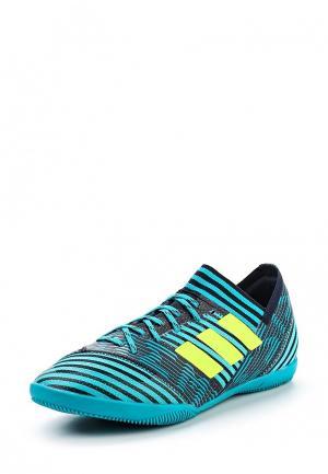 Бутсы зальные adidas Performance. Цвет: бирюзовый
