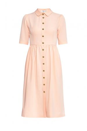 Flashin Платье из вискозы 176559 Flashin'. Цвет: розовый