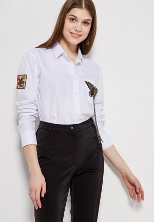 Блуза Magwear. Цвет: белый