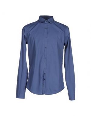 Pубашка AGLINI. Цвет: пастельно-синий