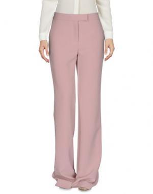 Повседневные брюки SI-JAY. Цвет: светло-розовый