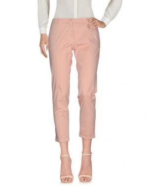 Повседневные брюки 19.70 NINETEEN SEVENTY. Цвет: телесный