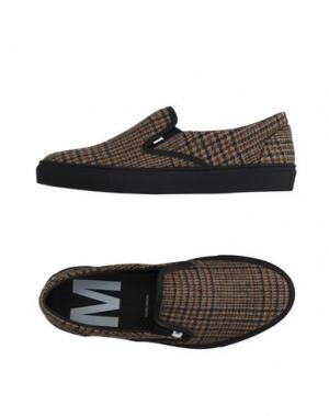 Низкие кеды и кроссовки MAURO GRIFONI. Цвет: верблюжий