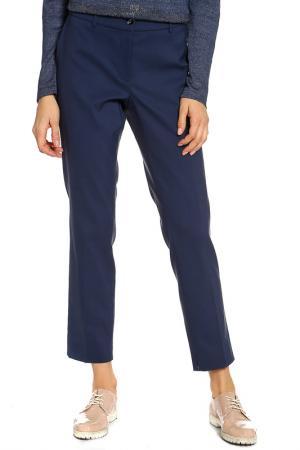 Укороченные брюки Luisa Cerano. Цвет: синий