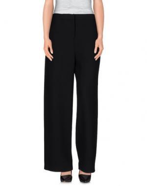 Повседневные брюки N_8. Цвет: черный
